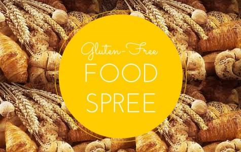 Gluten-free food spree