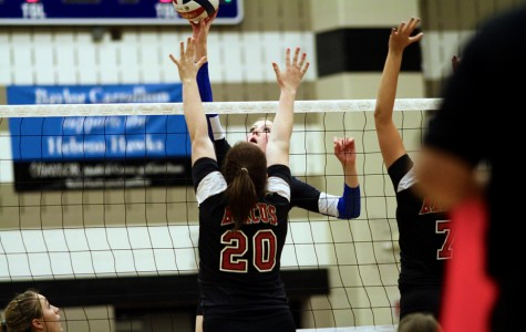 Hawks knock out Raiders in 3 sets