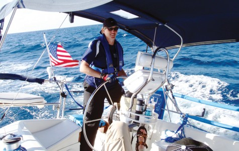 At the helm of the ship
