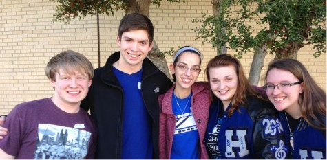 Hebron choir members go to San Antonio for concert