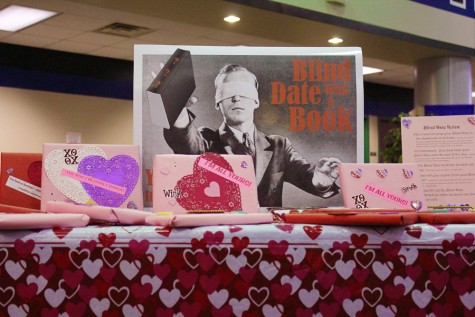 "Library offers ""Blind Date"" books for Valentine's Day"