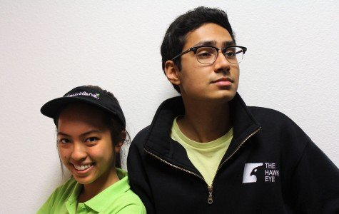 News editor Christina Nguyen and editor-in-chief Farhan Ahmad face off to debate about working students.