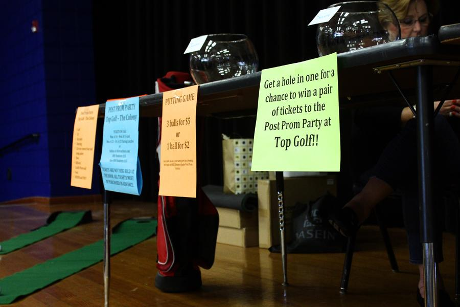 PTSA is holding a golf putting contest during all lunches for a chance to win a pair of tickets to post-prom at Top Golf. The contest ends April 17. Post-prom tickets will be on sale April 21-25 for $15 per person.