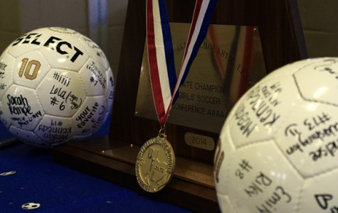 Girls soccer receives state rings: Photo gallery