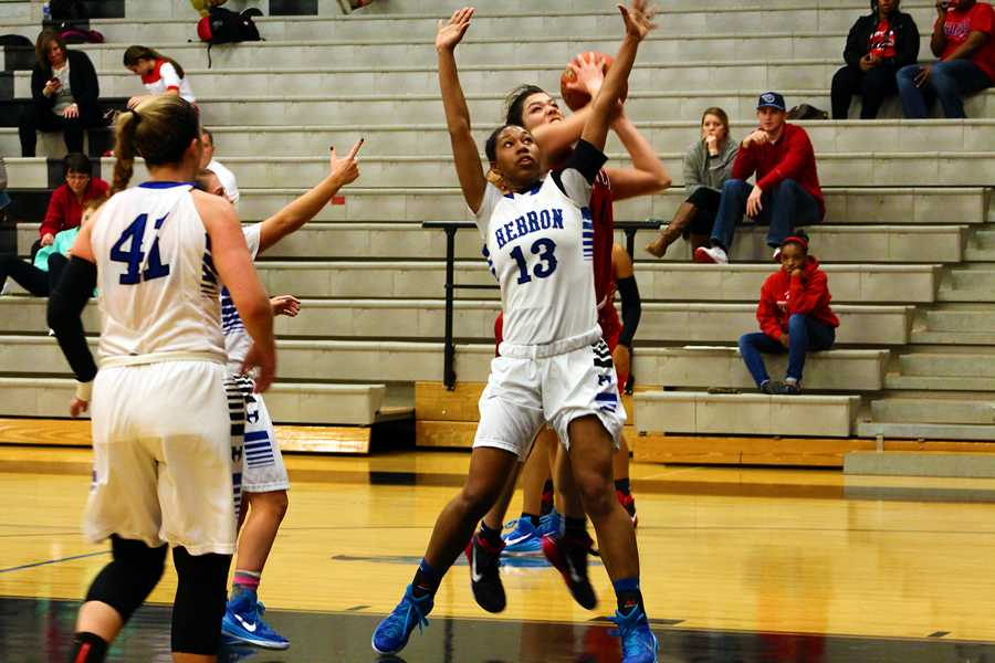 Lady Hawks end season, senior night with win over Broncos