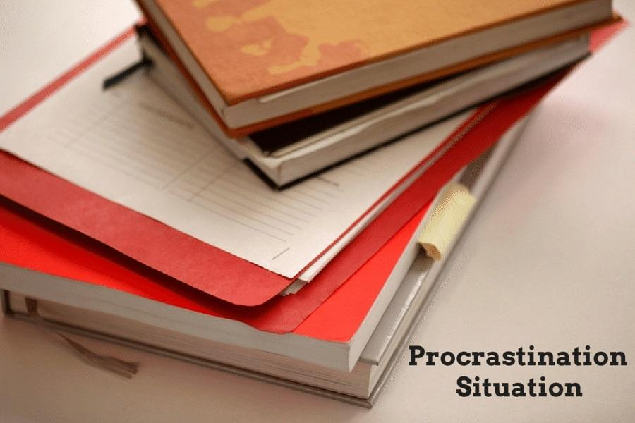 Procrastination+situation
