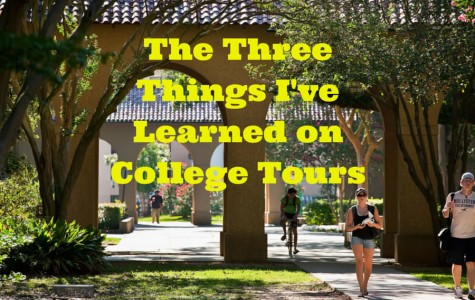The three things I've learned on college tours