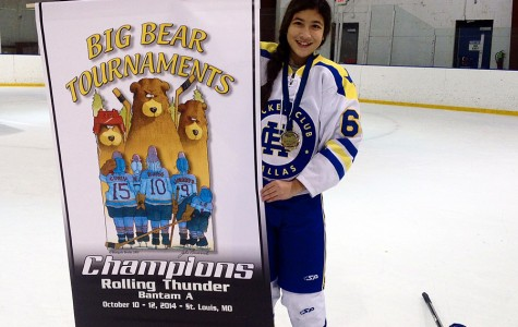 She's the Man: Freshman female hockey player breaks stereotypes