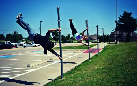 Defying Gravity: Sophomore starts parkour organization