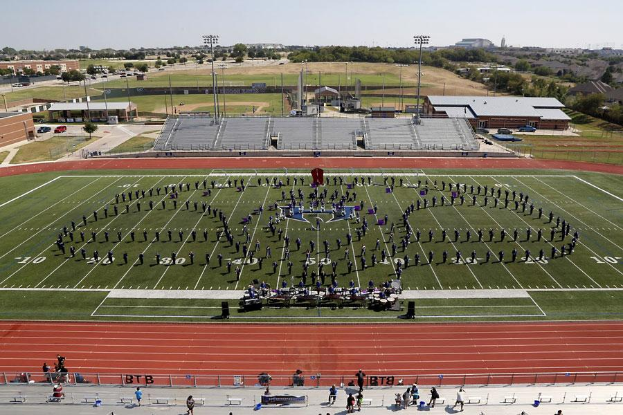 Band prepares for national competition