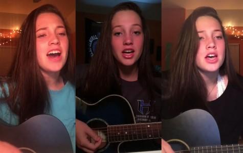 Overnight Sensation: Freshman launches singing career on Twitter