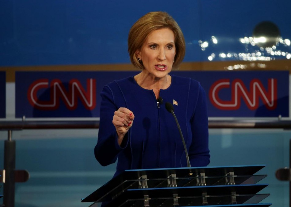 Carly Fiorina: 61 years old, former CEO of HP