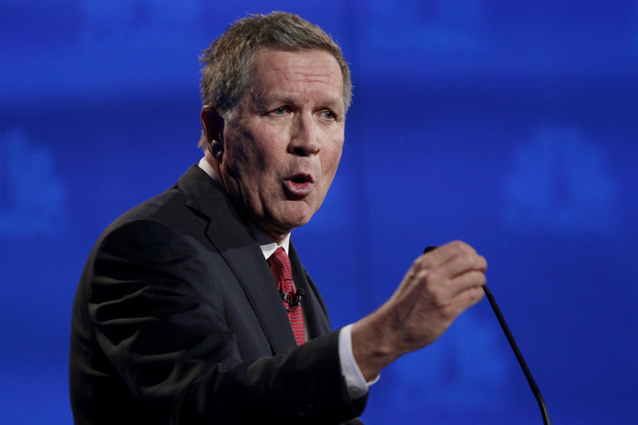 John Kasich: 63 years old, current governor of Ohio
