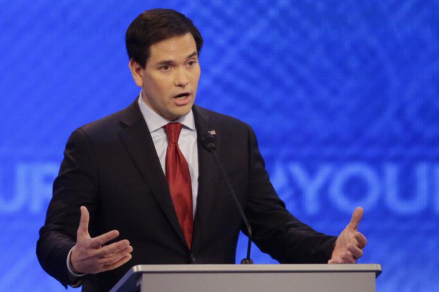 Marco Rubio: 44 years old, current US Senator (FL)