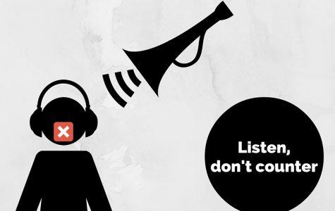 Listen don't counter