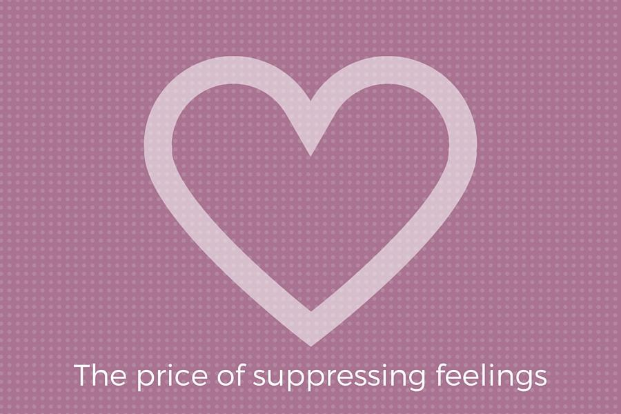 The price of suppressing feelings