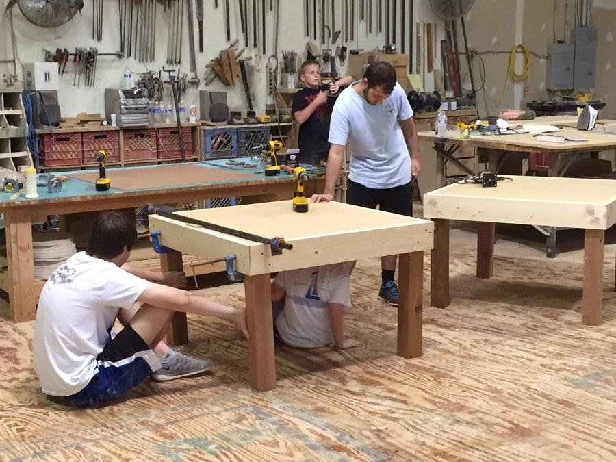 Making tables, making dreams