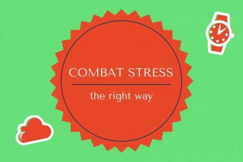Combat stress the right way