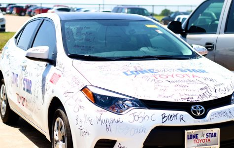 Toyota of Lewisville donates car for attendance-driven giveaway