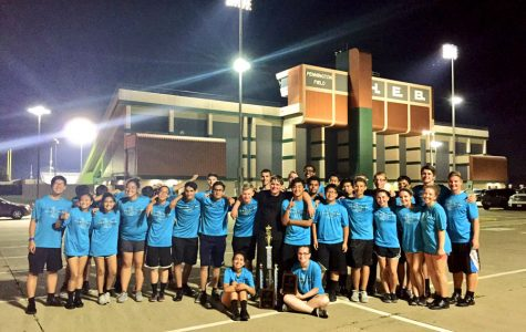 Drumline wins first at HEB contest