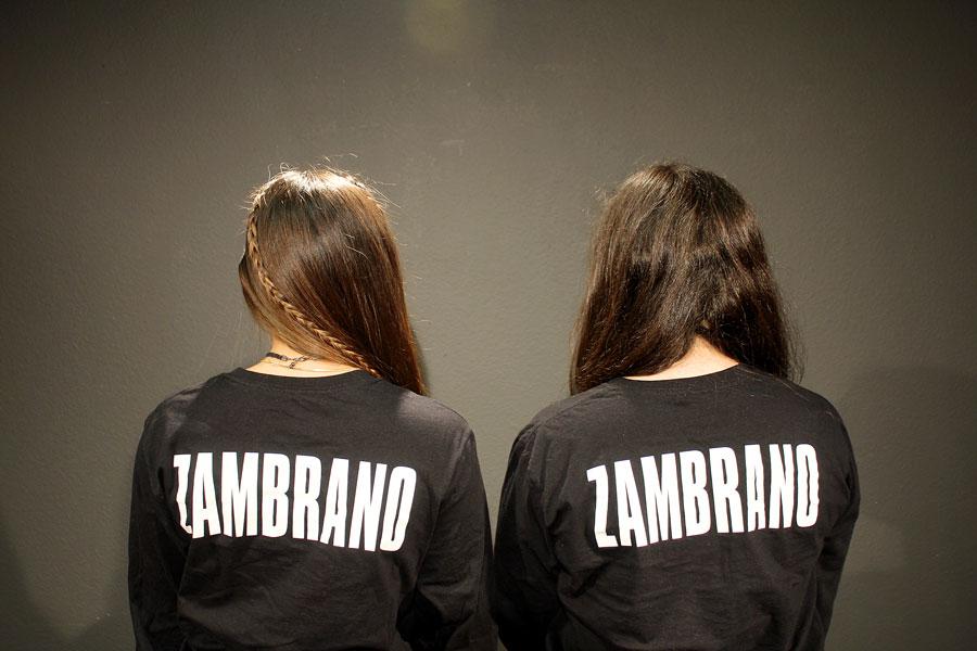 Swann and Ramirez wear their