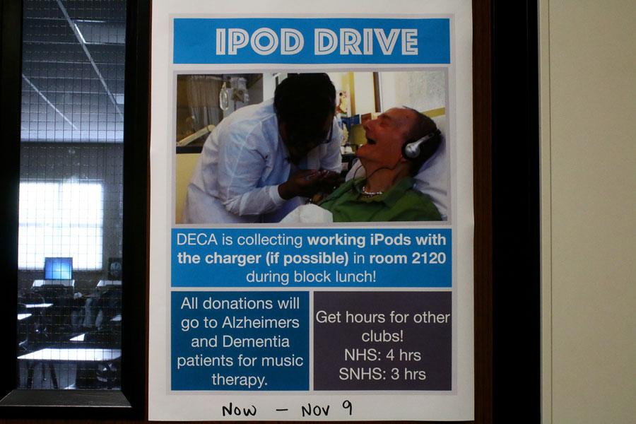 DECA collects iPods to aid Alzheimer's patients