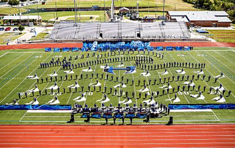Band marches to state