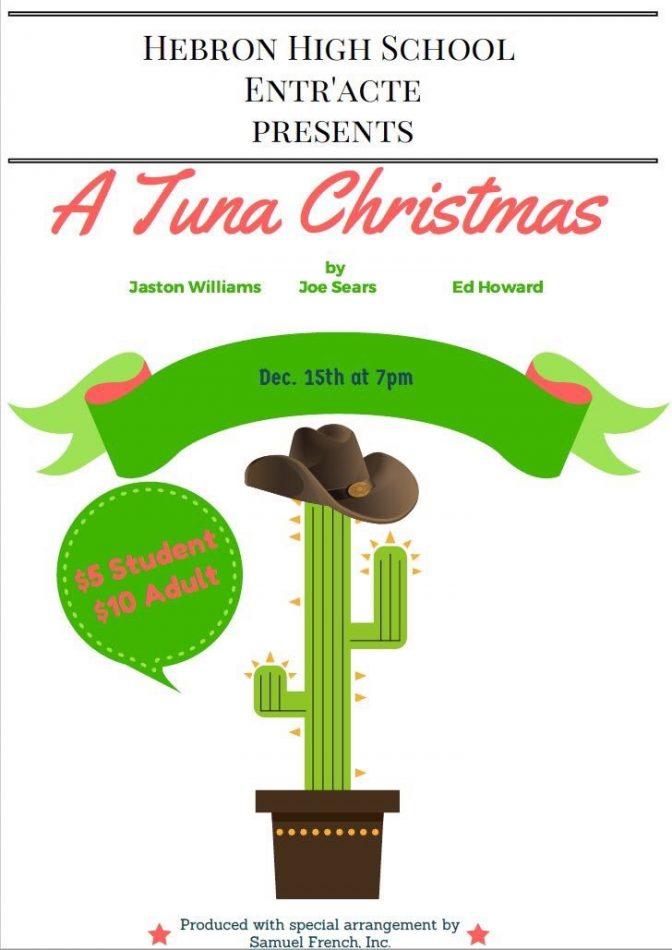 A Tuna Christmas poster.