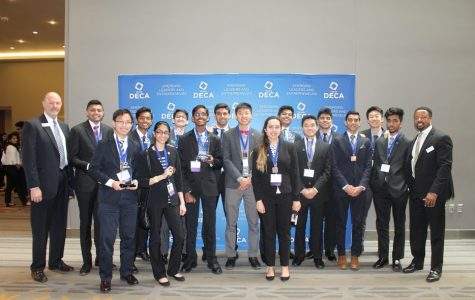 DECA competes at internationals