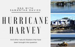 Hurricane Harvey: A Q&A with Samantha Davies