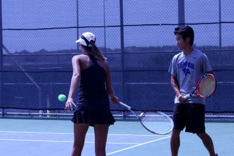 Varsity tennis ends fall season with loss to Southlake