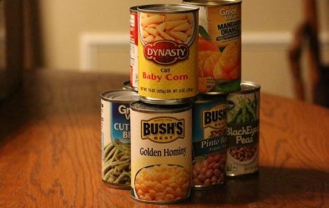 Students can bring canned food and other items to help Student Council Nov. 9-16.