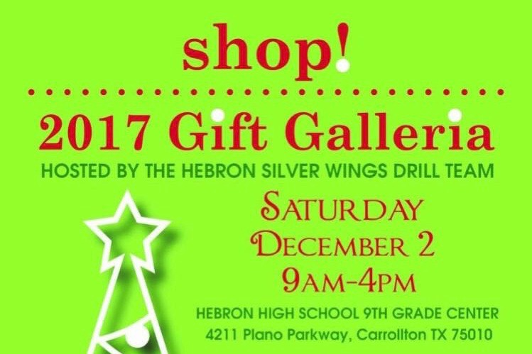 Silver wings to hold annual gift galleria