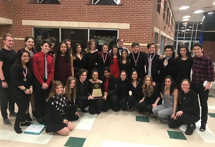 Hawk Theatre Company One Act Play advances through Zone and District.
