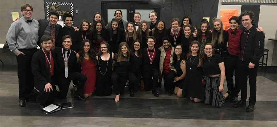 One Act to compete at regionals