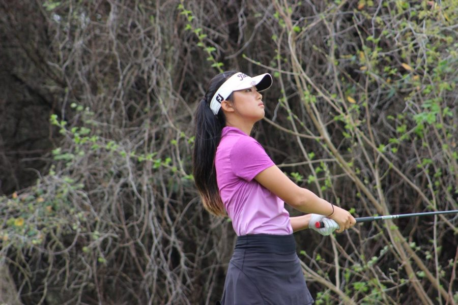 Park said she enjoys the competitiveness of golf because it pushes her to do better. The state tournament will take place May 22.