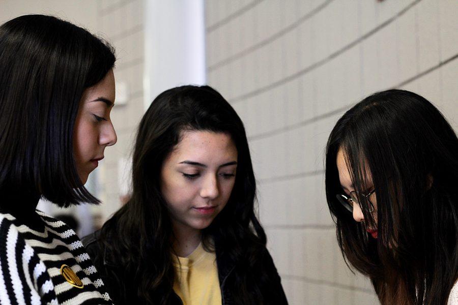 Seniors Krista Kummerl and Kayla Kummerl interview sophomore Danielle Golden for their Friday post.