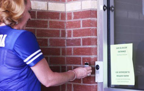 District implements new security around school