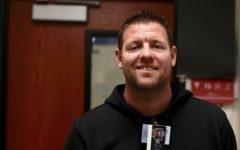 Teacher tea: Coach Hill