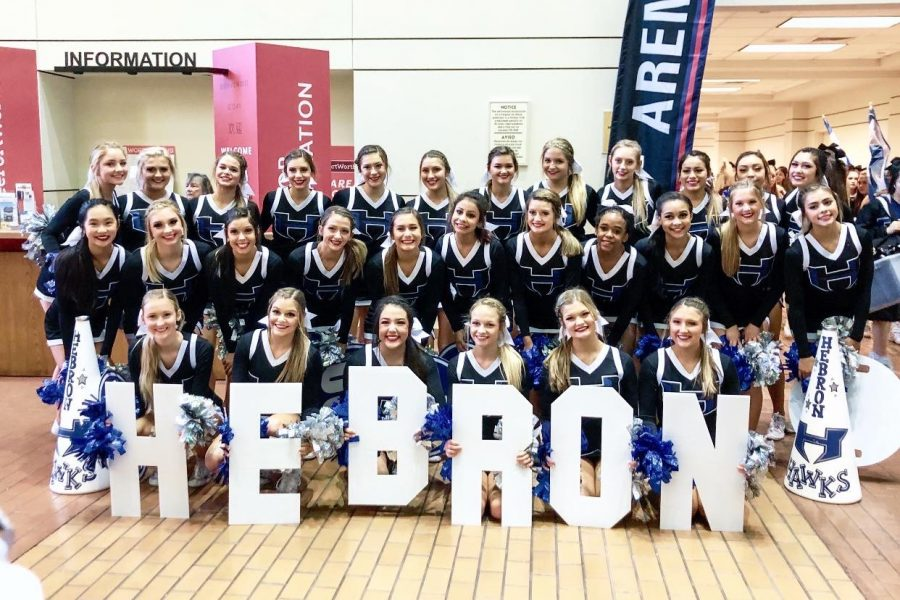 Cheer places 14th at UIL state competition