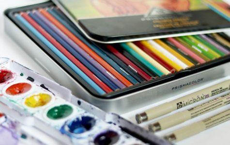 Students can pick up art kits on March 31 from 12-2 p.m.