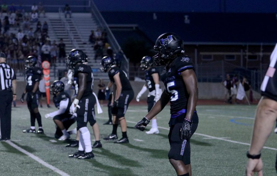 The football team faces off against Irving at home. Irving is one of the three teams Hebron will no longer face in district games from 2020 to 2022.