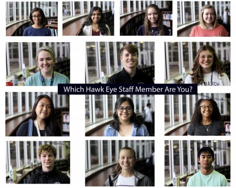 Which Hawk Eye Staff Member are You?