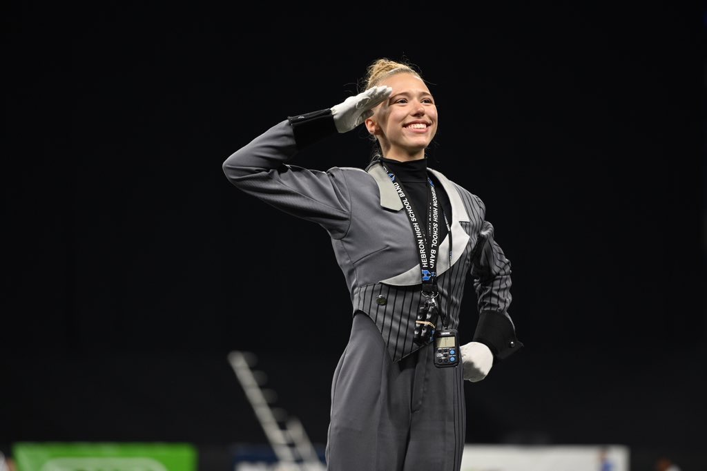 "Although she was initially just excited to be there, senior Abby Rieger was grateful that she chose to be a part of Santa Clara Vanguard Drum and Bugle Corps after attending the audition camps. ""The organization is truly like a family,"" Rieger said. ""Whether that means being great friends, holding each other accountable, being there for emotional support, pushing each other to be better all the time or whatever other positive aspect a family could bring to your life."""