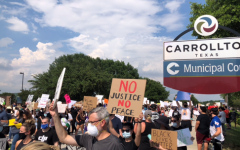 Navigation to Story: Peaceful protest held in Carrollton
