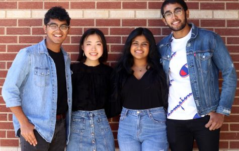 Seniors Ali Niaz, Claire Song, Rebecca Varghese, and Jeremiah Joseph have been elected for the senior class board.