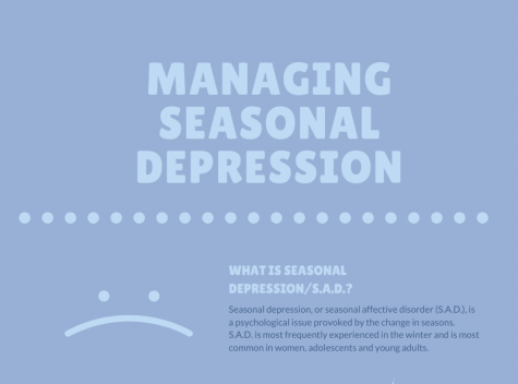 Infographic: managing seasonal depression