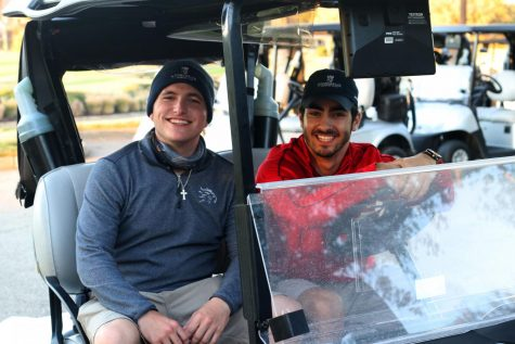 Junior Noah Farahmand works at Stonebriar Country Club in Frisco. He delivers golf carts to people on the golf course on weekends.