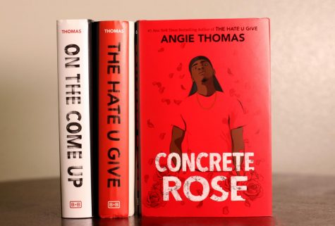 """The Hate You Give"" series by Angie Thomas"