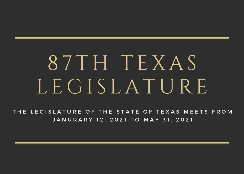 Infographic: 87th Texas Legislature